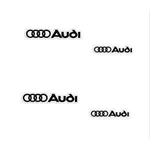 3M Audi A3,A4,A5,A6 Brake Caliper Vinyl Decals - 4pcs - Any Color! FREE SHIP!