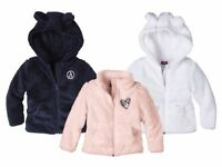 Kids' Girls Fleece Jacket Made from soft and fluffy fleece 12m 2 3 4 5 6 age