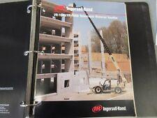 Ingersoll-Rand Vr-1044/Vr-1056 Telescopic Material Handler Literature