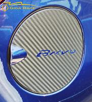 FIAT BRAVO ADESIVI STICKER DECAL TAPPO SERBATOIO TUNING CARBON LOOK VINILE
