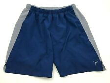 Old Navy Active Shorts Youth Size Medium M Blue Gray Dry Fit Athletic Pockets