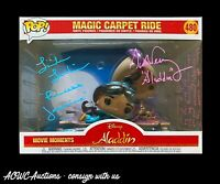 Funko POP - Aladdin - Magic Carpet Ride - Signed by Linda Larkin & Scott Weinger