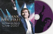 CD CARTON CARDSLEEVE COLLECTOR 11T FRANK MICHAEL AU PALAIS DES SPORTS LIVE 2007