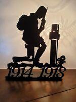 WW1 Remembrance Centenary 1914-1918 Kneeling Tommy Soldier Armistice