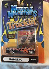 Muscle Machines Truckin' Radillac Black (Cadillac) TM03-05 1/64 DieCast Trucking
