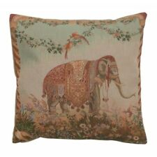 Set of 2 Elephant I French Tapestry Cushion Pillow covers 19 x 19