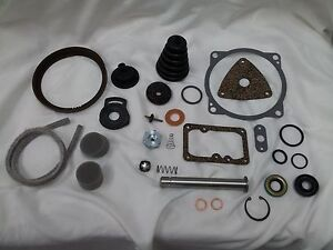 1957-58 Mercury / 1958 Edsel Bendix Treadle-Vac major rebuilding kit