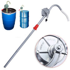 New Drum Rotary Manual Hand Barrel Heavy Duty Pump Diesel Fuel Oil Gas Tool US