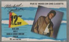 Michael Jackson - The 12 Inch Mix Cassette Tape