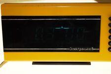 ELEKTRONIKA 6 Alarm Digital Clock Soviet Russian