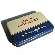 SoniaMcD's Trashed Out Treasure--Johnson & Johnson Leader First Aid Kit Tin