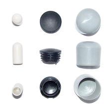 ZEHN Endkappen 10 mm - 28 mm Set # Kappe Besenstiel Gummi Plastik Rohr Endkappe