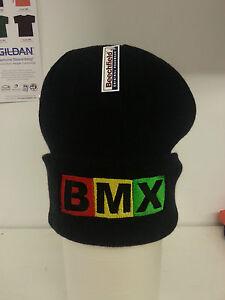 BMX Rasta Beanie Lots Of Colours - Cotton Custom Hat Gift