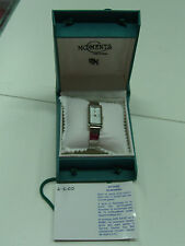 VINTAGE SIGMA CHRONOLUX MOMENTS LADIES WATCH ELEGANT GREEK DESIGN 521 MIB