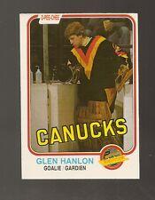 1981-82 O-Pee-Chee Glen Hanlon #336 (Buy 5 $3.00 Cards Pick 2 Free)