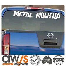 Metal Mulisha Sticker Decal / for Car Window Motocross MX Racing Dirtbike