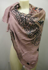 Kefia foulard sciarpa scarf SWEET YEARS art.LF24 colore 1 rosa pink queen Italy