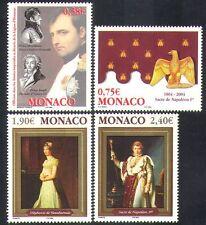 MONACO 2004 Napoleone/MILITARY/Persone/Militare/INCORONAZIONE/Api/Eagle 4v Set (n38421)