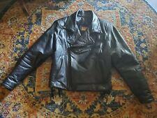 Bill Wall Custom leather Motorcycle Jacket sz 42