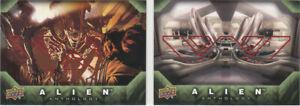 2016 Alien Anthology E-Pack Red Foil Base Set of 94 cards (Upper Deck)