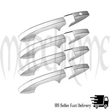 Chrome Door Handle Covers For 2007-2011 Honda CR-V *No psg Keyhole*
