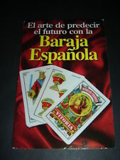 BARAJA ESPAÑOLA libro enigmatico arte para predecir el futuro