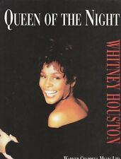 Queen Of The Night  - Whitney Houston - 1992 Sheet Music