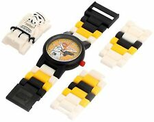 LEGO 9004339 NEW Kid's STAR WARS Stormtrooper Buildable Minifigure Watch 24PCS