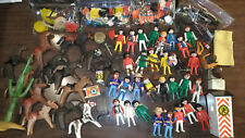 PLAYMOBIL 1970s Geobra 1974 RARE Figures, Horses, Weapons, Animals MAKE OFFER!