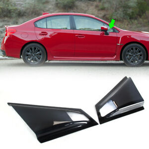 Fit FOR SUBARU WRX STI Sedan 4th 4DR Side Duct Vent Window Louver 2015-2020