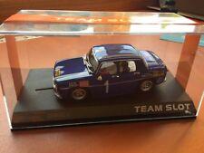 Team Slot Renault 8,  NEU OVP Mega Rarität! ninco, scalextric