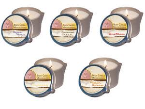 17,98EUR/100ml Body Candle Massagekerze 50ml Massagelotion Rose Caramel Vanille