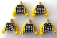 LEGO 5 x Torsos Tribal Chief Indian Minifigure Torso CMF Minifig Bundle Joblot