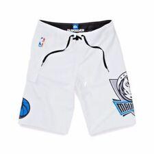 NWT! 70% off SALE Quiksilver NBA Dallas Mavericks Men's White BOARD SHORTS 33