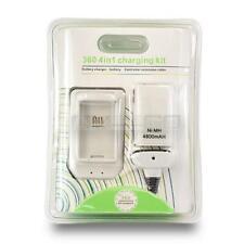 Xbox 360 4 en 1 Kit De Carga Batería Cargador/Batería/Cable de extensión de controlador