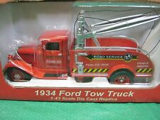 Snap-On Tools 1934 Ford Wind Up Toy Tow Truck Wrecker 1:43 Scale Crown Premiums