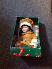 Christmas Porcelain Doll - In Box