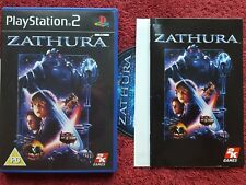 ZATHURA ORIGINAL BLACK LABEL SONY PLAYSTATION 2 PS2 PAL