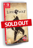 Joe Dever's Lone Wolf Nintendo Switch Super Rare Games #15 SRG Sealed Sold Out!