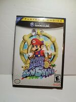 Super Mario Sunshine (Nintendo GameCube GCN, 2002) COMPLETE Tested & Cleaned!