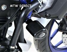 Yamaha MT-03 MT03 2016-2017 R&G RACING AERO style crash protectors bungs