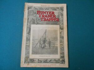 HUNTER TRADER TRAPPER MAGAZINE SEPTEMBER 1906, TRAPS, TRAPPING
