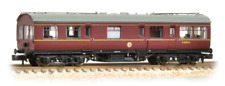 Graham Farish 374-876 LMS 50ft Inspection Saloon BR Maroon  N Gauge