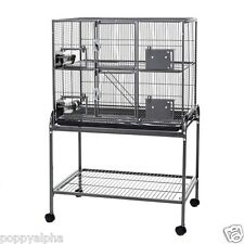 Little Friends Double Metal Rat Chinchilla Ferret Cage on Stand #50932