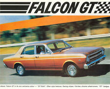 Comprehensive collection- FORD FALCON GT brochures, history & information