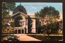 1915 Gera Germany To Fukuoka Camp Japan Postcard Cover Ww1 Pow prisoner Of war