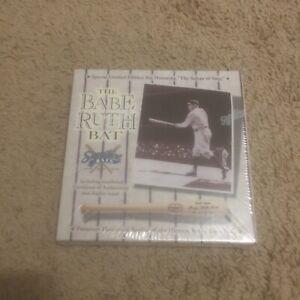 Babe Ruth N Y Yankees Signature Series Replica Mini Bat Limited Ed. New In Box