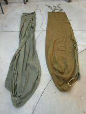 ORIGINAL 1944 DATED US ARMY WOOL SLEEPING BAG AND 1945 OUTER BAG