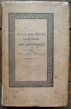 A.G.DESMAREST Classe des CRUSTACES Rare E.O. 1825 - 56 planches Envoi autographe