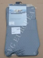 Mercedes-Benz R230 SL Class Genuine All Season Rubber Floor Mat Set NEW 2003-12